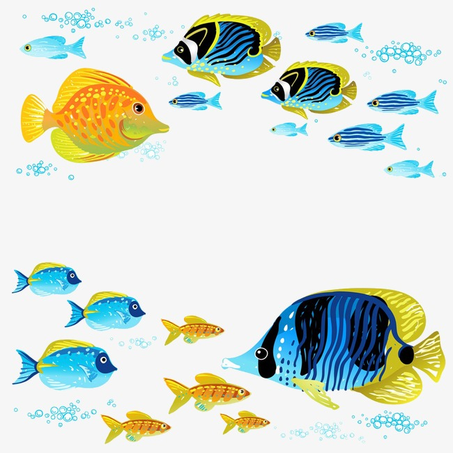 650x650 Deep Sea Fish, Color, Hand Painted, Fish Png Image And Clipart