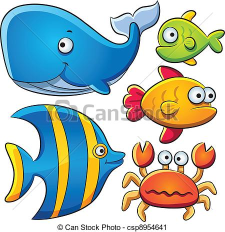450x464 Seafish Clipart