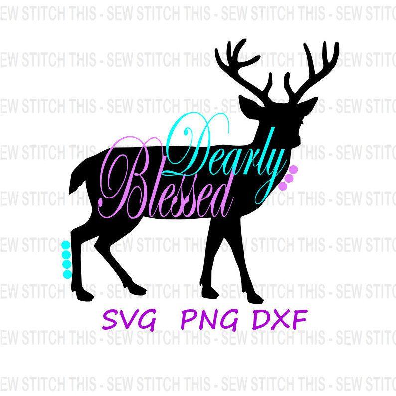 794x794 Deer Antler Svg, Deer Svg, Deer Antlers Svg, Hunting Svg, Bless