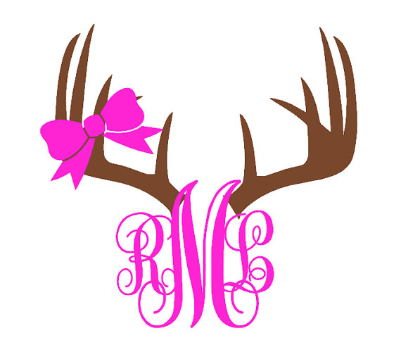 570x517 Antler Clipart Brown Deer