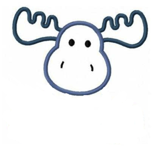 600x572 Antler Clipart Simple