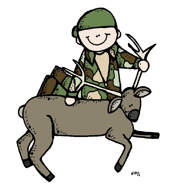 677x725 Collection Of Deer Hunting Clipart High Quality, Free