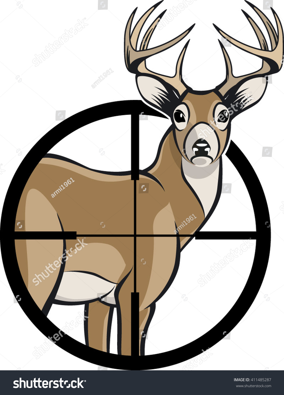 1149x1600 Collection Of Deer In Sights Clipart High Quality, Free