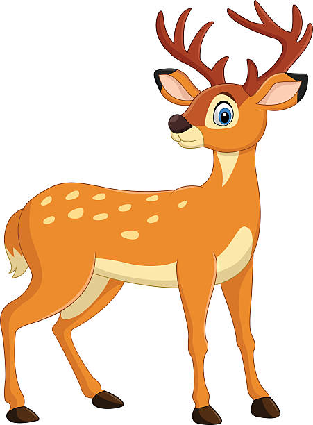 451x612 Collection Of Deer Clipart High Quality, Free Cliparts