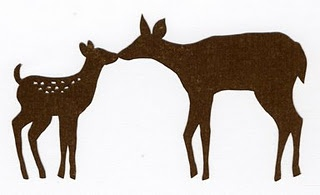 320x195 Fawn And Mother Deer Clipart