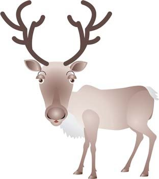 312x350 Free Deer Vector 2 Clipart And Vector Graphics