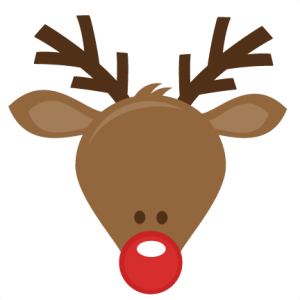 300x300 Rudolph Head Clipart Free Clip Art Images