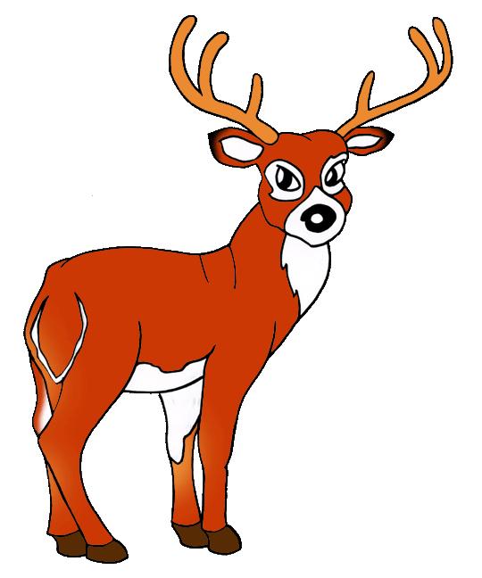 540x648 United States Clip Art By Phillip Martin, Ohio State Animal