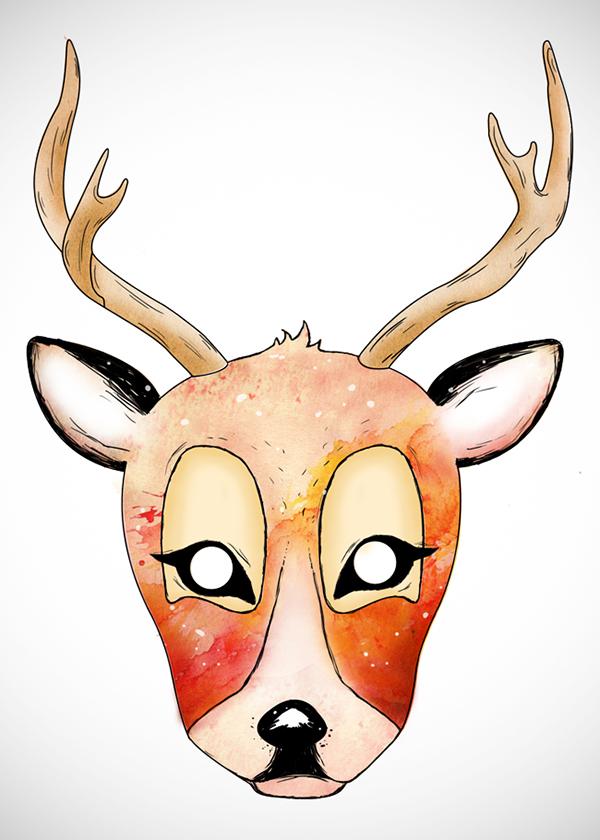 600x840 Dear Clipart Small Deer