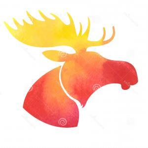 300x300 Deer Silhouette Clip Art Whitetail Deer Clipart Deer Head