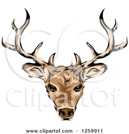 450x470 Royalty Free (Rf) Deer Stag Clipart, Illustrations, Vector Graphics