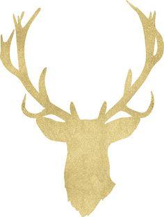 236x313 Christmas Deer, Reindeer, Antlers, Digital Clip Art, Christmas
