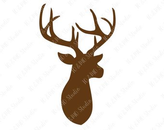 340x270 Deer Svg Deer Head Svg Christmas Svg Boho Svg Deer Clip