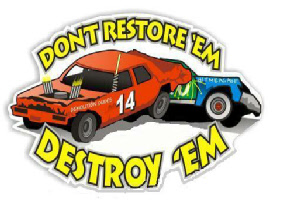 284x213 Demolition Derby Graphics And Animations.