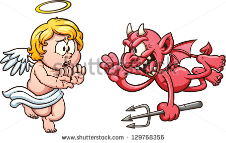 450x285 Angels And Demons Clip Art Clipart