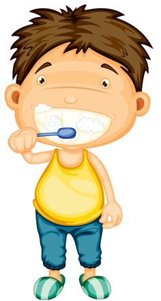 236x440 Teeth Clipart Boy
