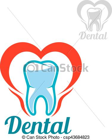 377x470 Dental Vector Isolated Tooth Icon. Dentistry White Tooth Vector