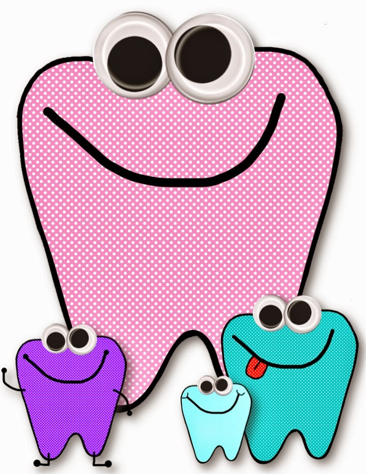 720x932 Freebie! Dental Health Fun Clip Art