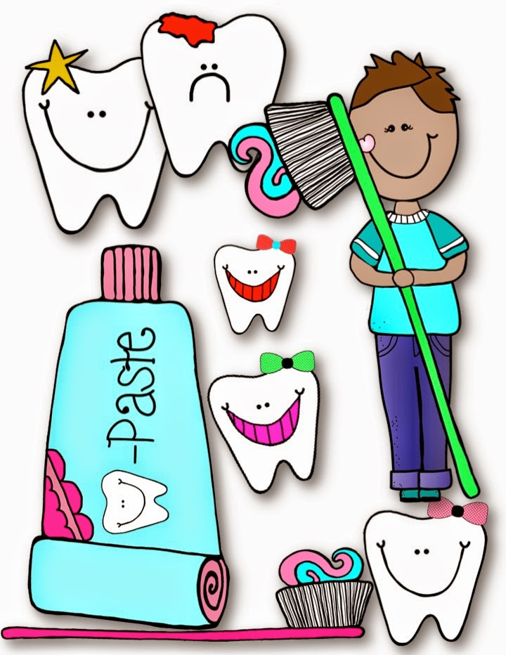 720x932 Freebie Dental Health Fun Clip Art Teacher Karma