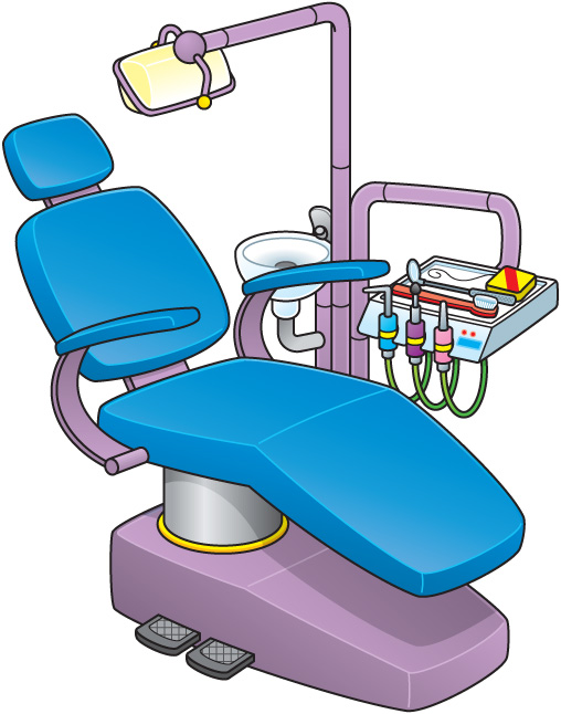 508x646 Collection Of Dental Hygiene Instruments Clipart High