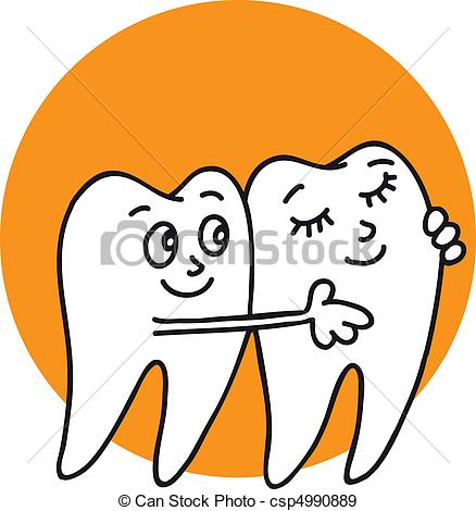 438x470 Cleaning Teeth Vector Clipart Royalty Free. 15,417 Cleaning Teeth