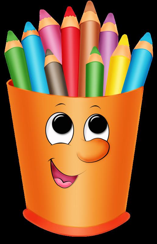 516x800 Coloured Pencils, Clip Art And School