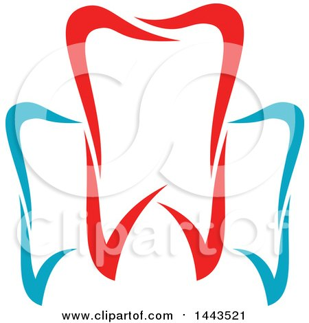 450x470 Clipart Of A Background With Sketched Dental Icons