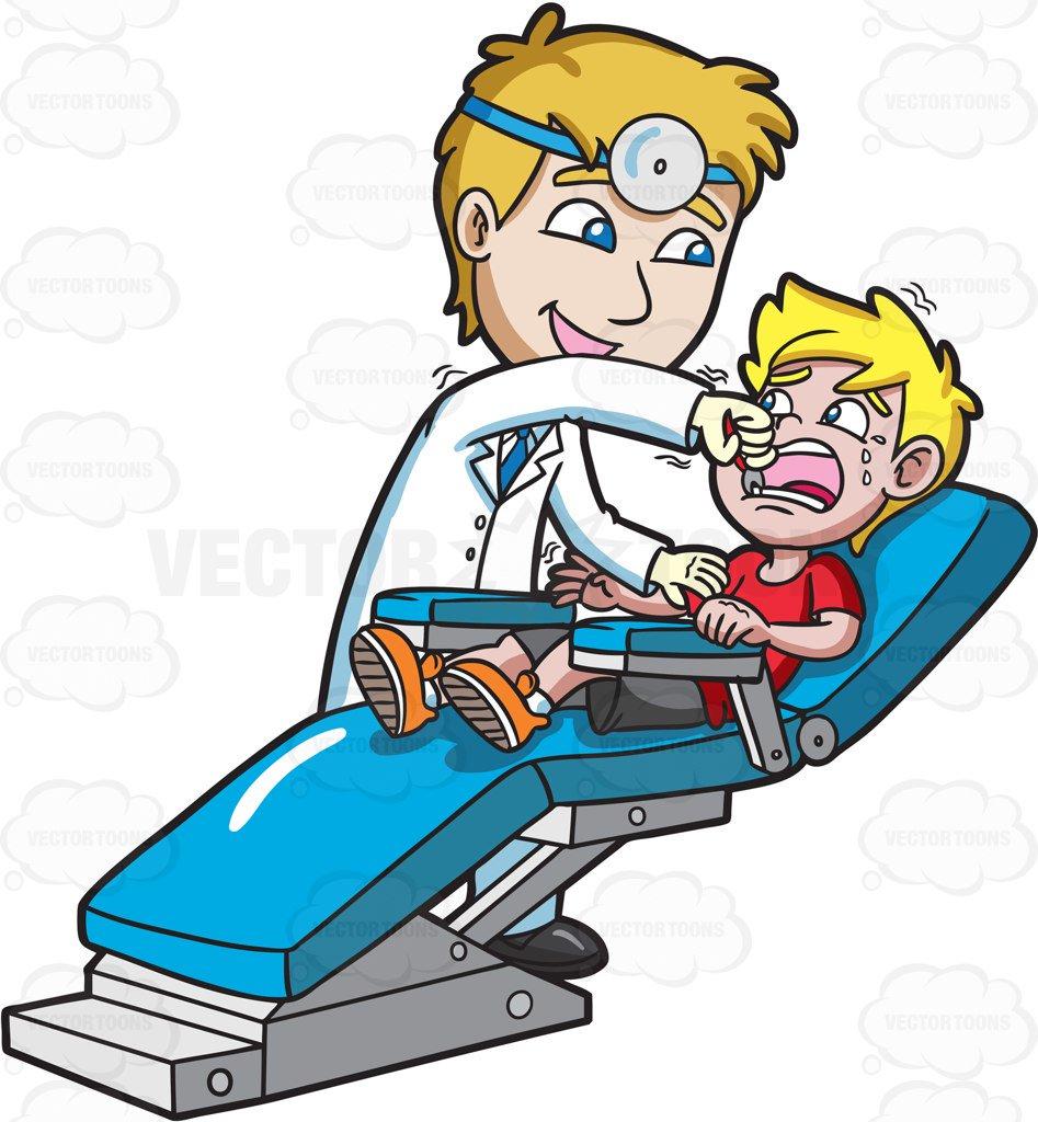947x1024 A Dentist Giving A Thumbs Up Sign Cartoon Clipart