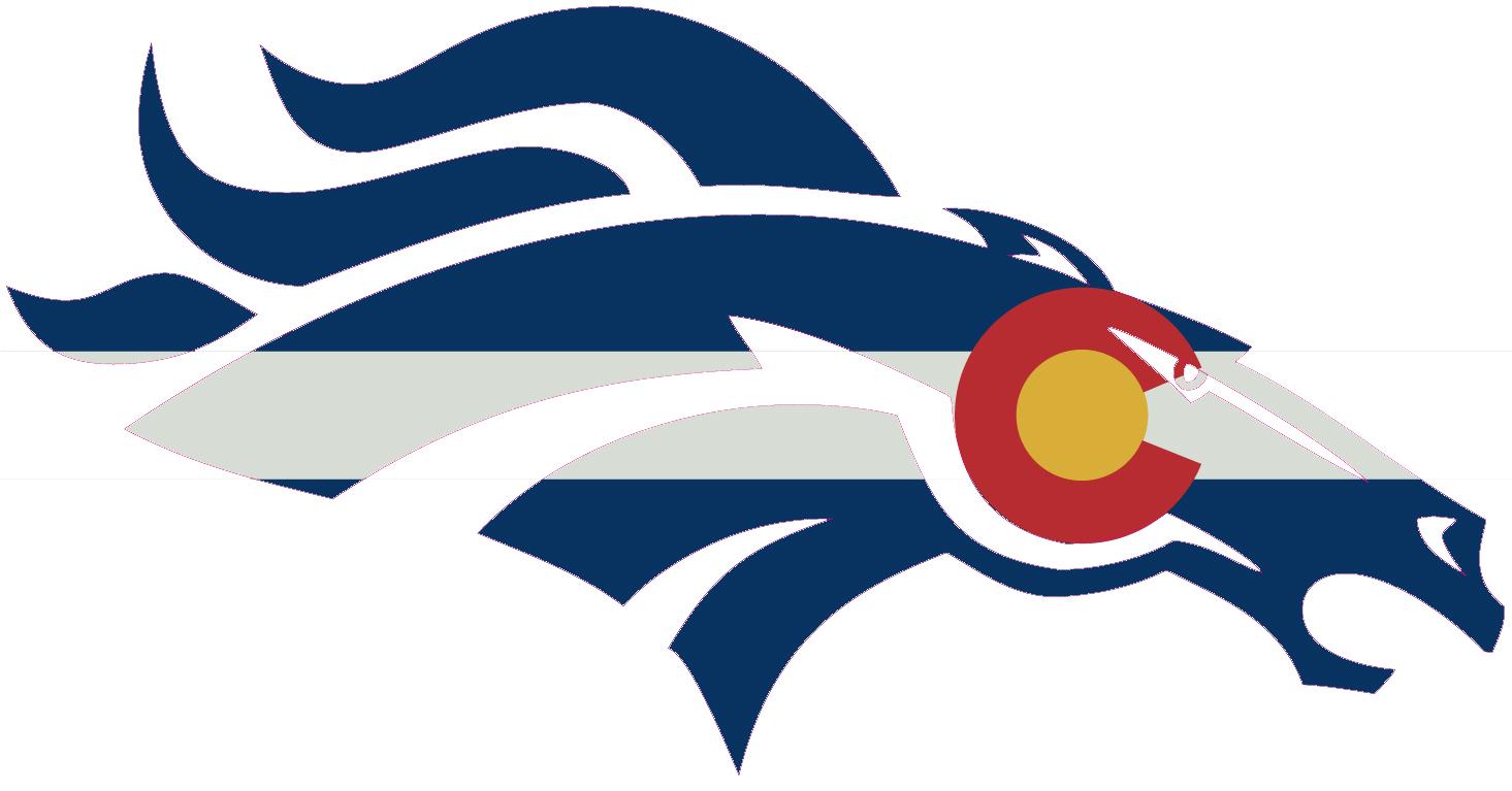 1465x767 Magnificent Denver Broncos Emblem 24 Bronco Clipart 12 Paper