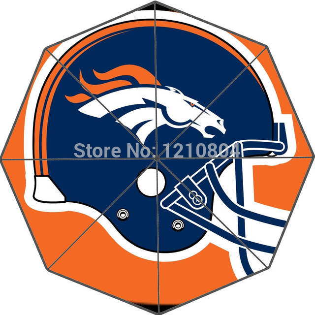 640x640 Custom Denver Broncos Helmet Cool Photo Portable Fashion Foldable