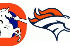 235x165 Extremely Bronco Logo Images Denver Broncos Cliparts Free Download