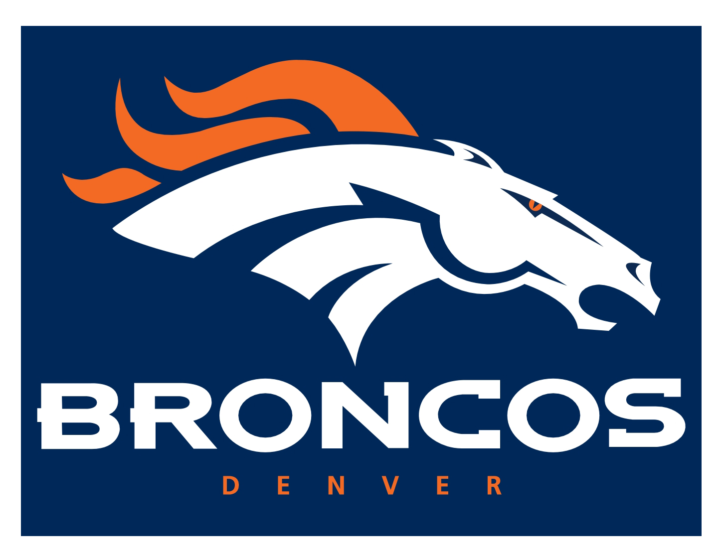 1450x1124 Fresh Denver Bronco Logo Images Broncos All Logos World