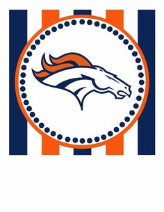236x305 Printable Denver Broncos Logo Template