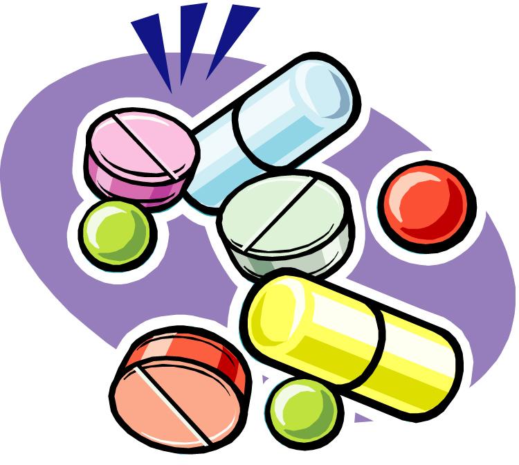 750x672 Depression Medication Clipart