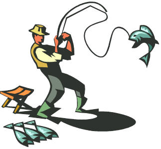 323x299 Fishing Derby Clipart