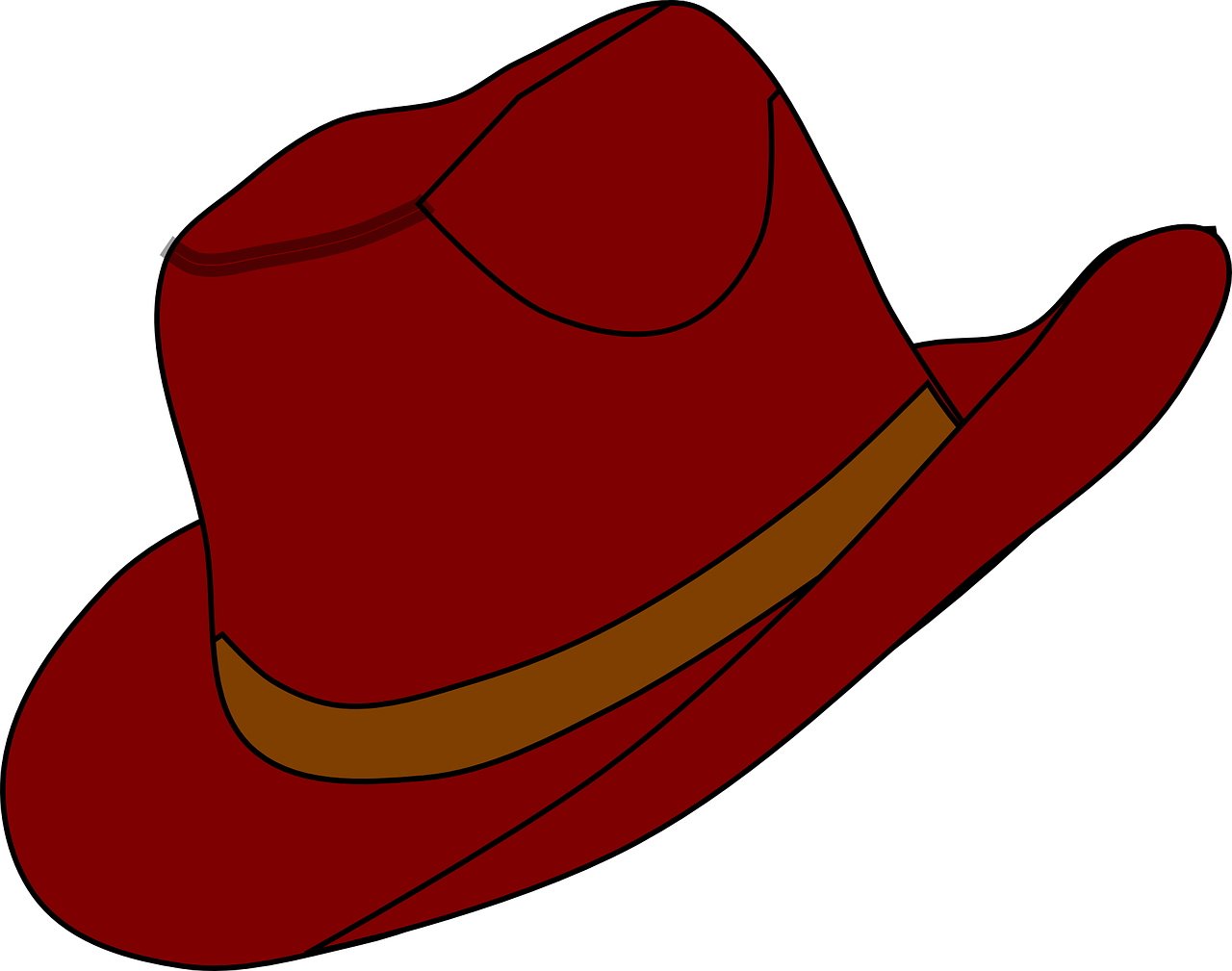 1280x1009 Red Hat Clip Art Free Clipart Collection