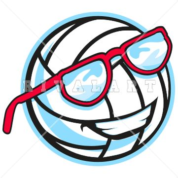 361x361 8 Best Volleyball High Res Clip Art (Raster) Images