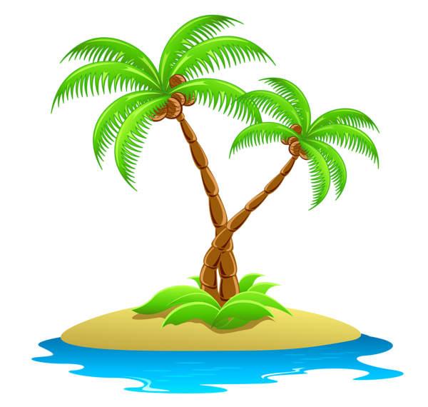 600x570 Beach Clipart Desert Island