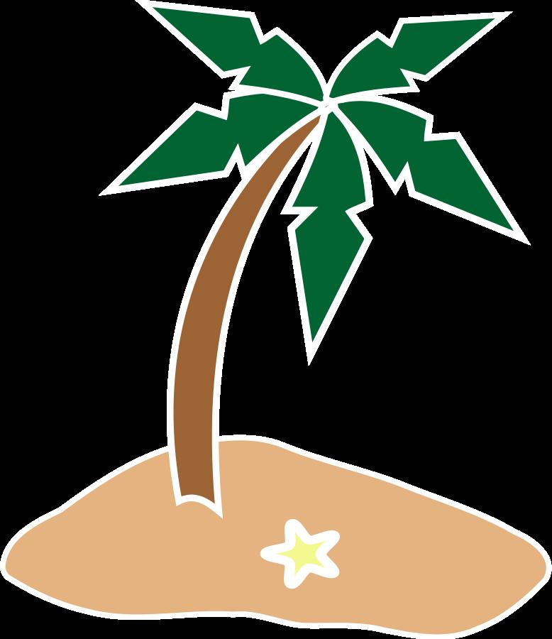 778x900 Beach Clipart Tropical Island