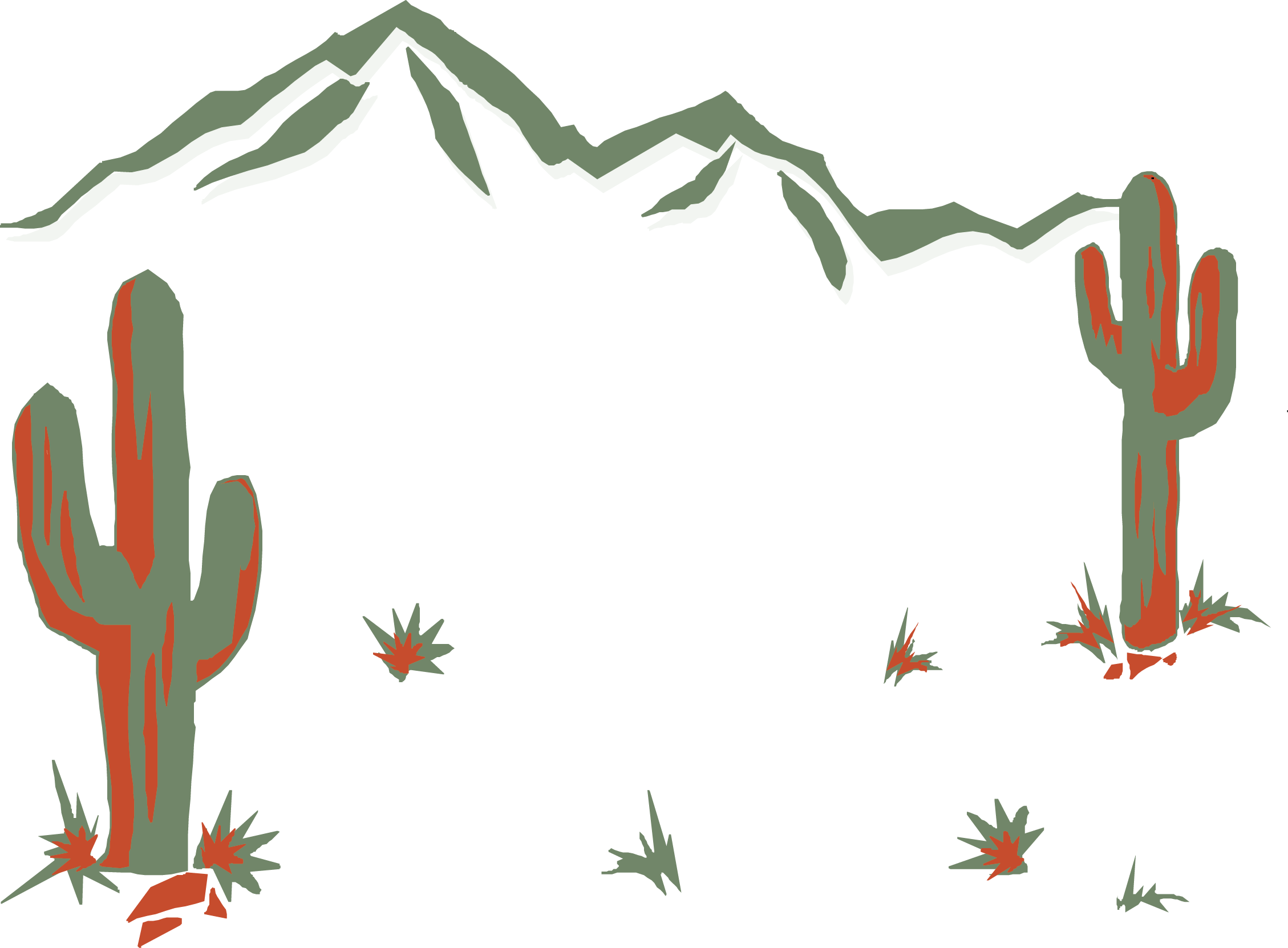 2258x1662 Desert Oasis Erg Clip Art