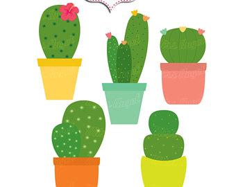 340x270 Cactus Clip Art Etsy Studio