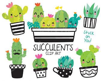 340x270 Cactus Clipart Etsy