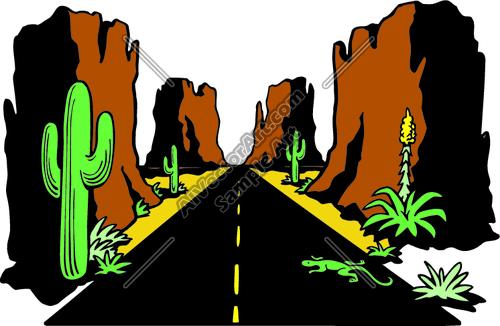500x326 Desert Clipart Southwest
