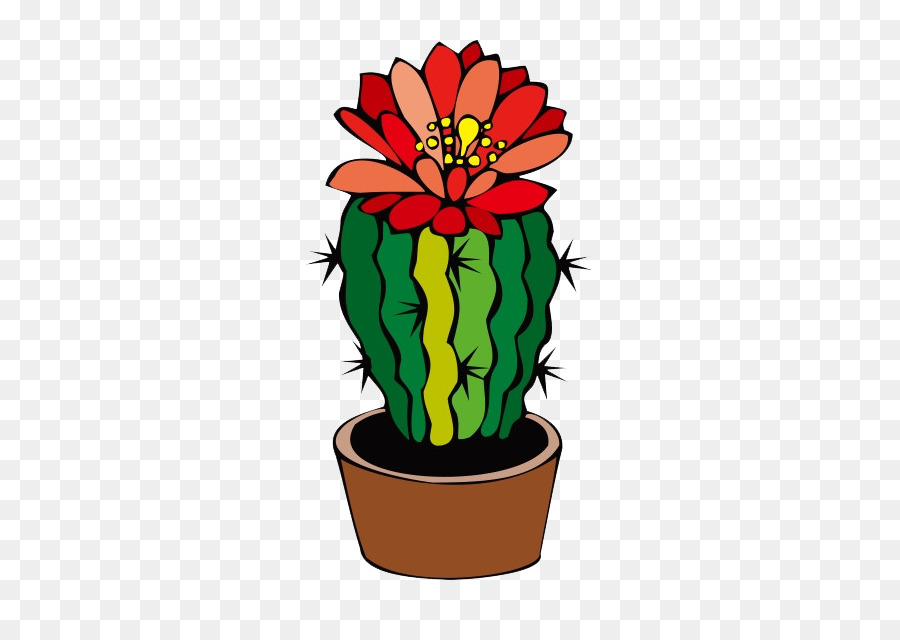 900x640 Cactaceae Barrel Cactus Flower Desert Clip Art