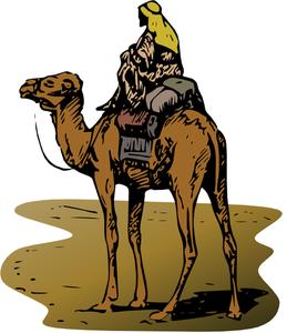 Desert Scene Clipart