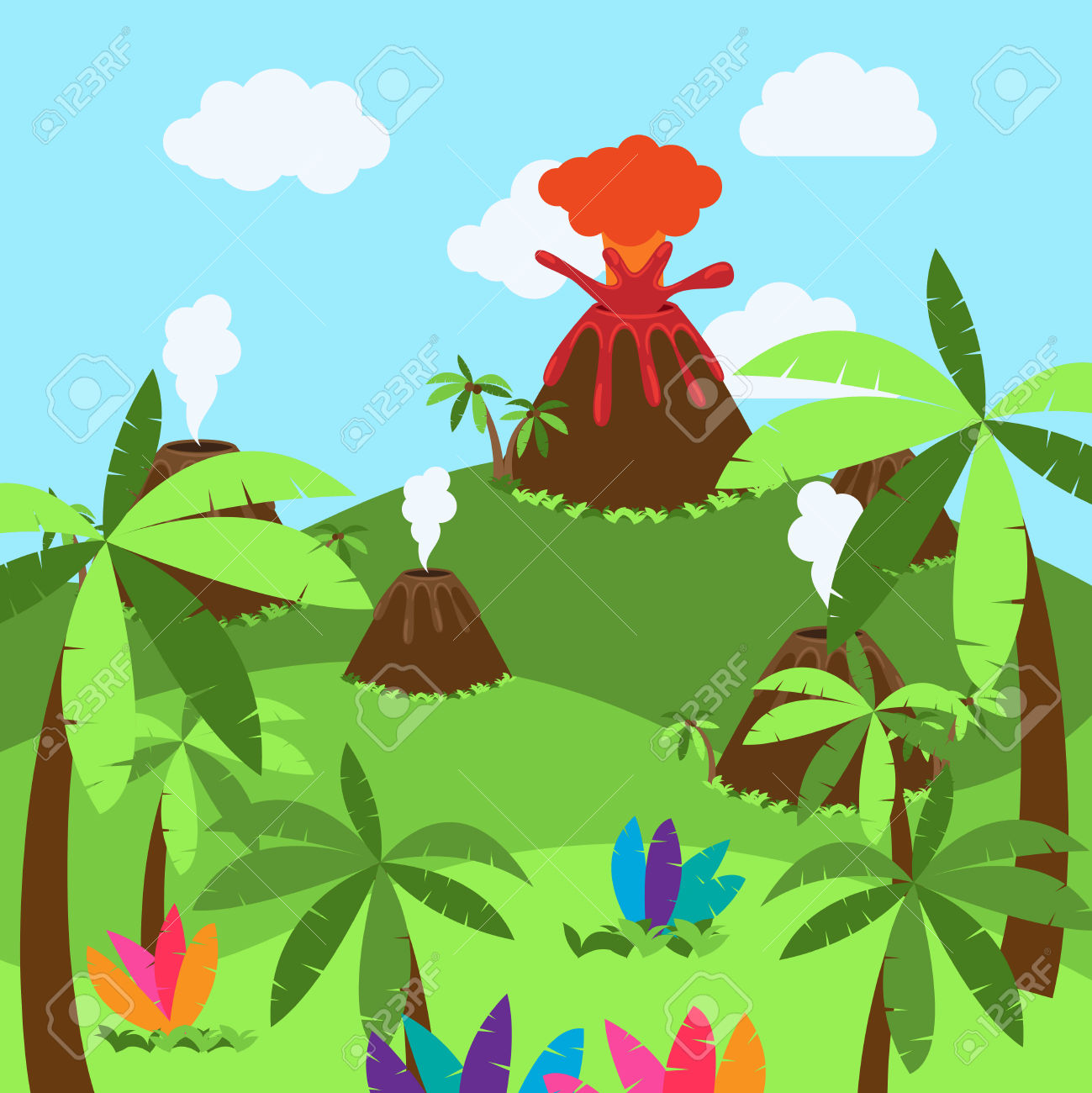 1299x1300 Jungle Dinosaur Clipart, Explore Pictures