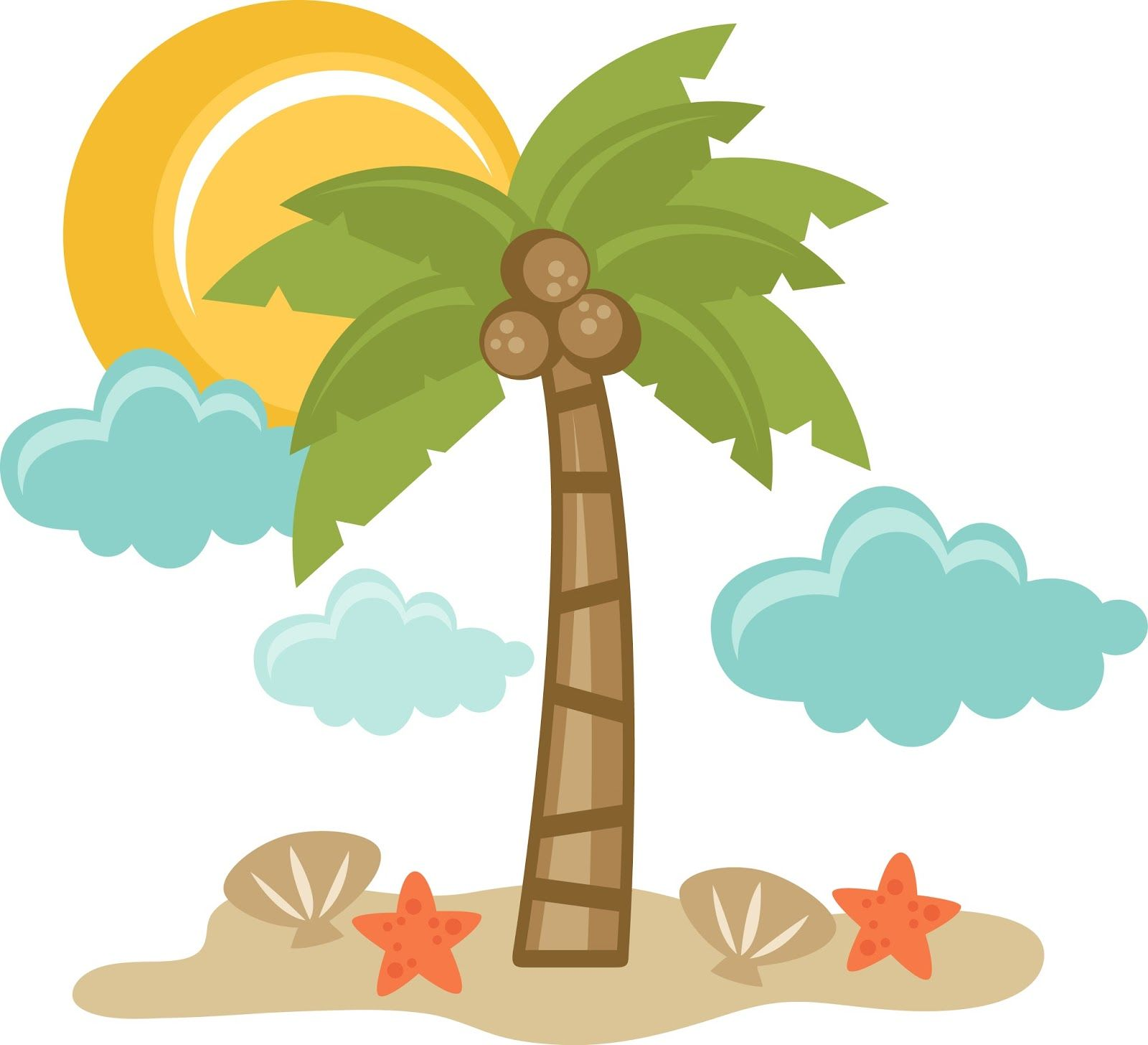 1600x1456 Tropical Summer Clip Art Clip Art