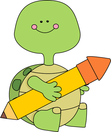 423x500 Tortoise Clipart Reading