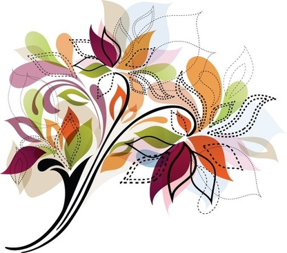 416x368 Flower Vector Clipart Free Vector Download (12,677 Free Vector