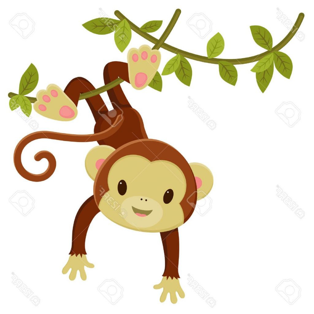1024x1024 Hd Hanging Baby Monkey Clipart Design Ripping Images Clip Art
